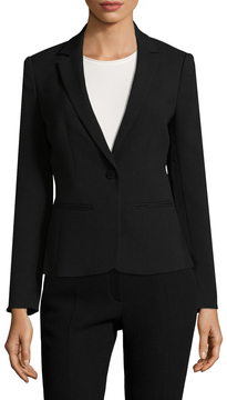 Armani Exchange Women's Solid Notch Blazer
