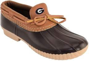 NCAA Women's Georgia Bulldogs Low Duck Step-In Shoes