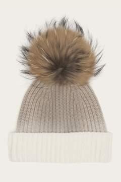 Frye Womens Dip Dye Pom Hat