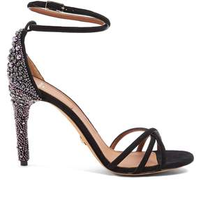 Givenchy Classic crystal-embellished suede sandals