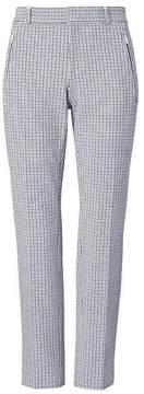 Banana Republic Sloan Skinny-Fit Plaid Zip-Pocket Pant