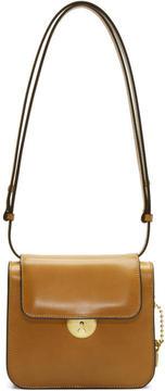 Maison Margiela Brown Leather Shoulder Bag