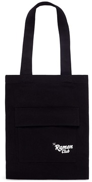 Song for the Mute x Nothing 'The Ramen Club' print canvas tote bag