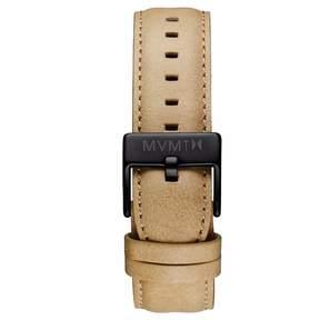MVMT Mens 40 Series 20mm Sandstone Leather