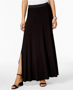 ECI Side-Slit Maxi Skirt