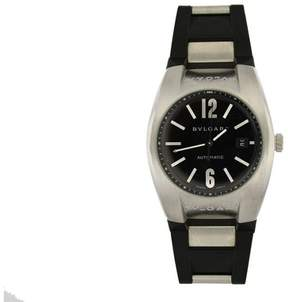 Bulgari Bvlgari EG 40 S Ergon Stainless Steel Black Automatic Date Watch