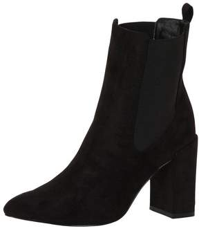 London Rebel *London Rebel Suede effect block heel boots