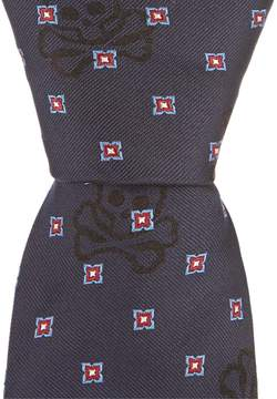 Psycho Bunny Bunny Neat Traditional 3.25#double; Silk Tie