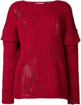 IRO layered sleeves jumper