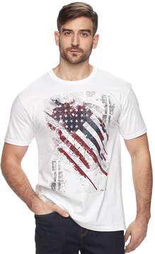 Apt. 9 Men's Liberty Grid American Flag Graphic Tee