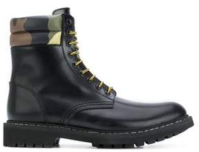 Givenchy Men's Black Leather Ankle Boots.