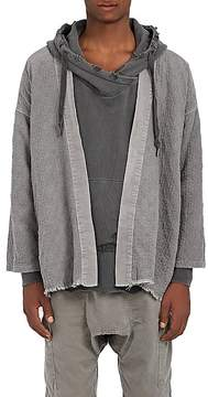 NSF Men's Quilted Cotton-Blend Kimono Cardigan