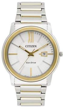 Citizen Eco-Drive AW1214-57A White Dial Watch