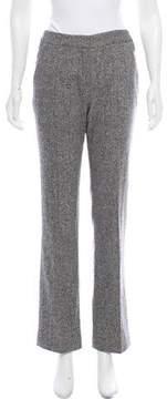 Behnaz Sarafpour Mid-Rise Straight-Leg Pants