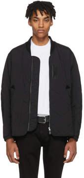 Burberry Black Marshall Bomber Jacket