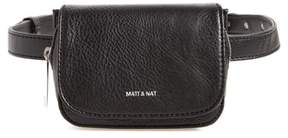 Matt & Nat Aki Faux Leather Belt Bag - Black