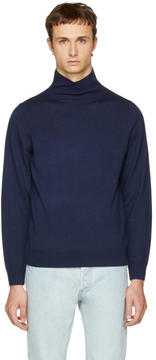 A.P.C. Navy Dundee Turtleneck