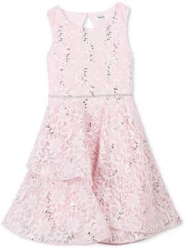Speechless Sequin Lace Dress, Little Girls