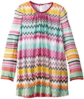 Missoni Kids Knit Zigzag Dress Girl's Dress