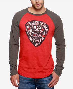 Lucky Brand Men's Martin & Co. Raglan T-Shirt