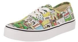 Vans Kids Authentic (peanuts) Skate Shoe.