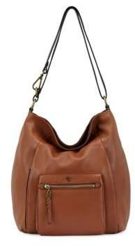 Elliott Lucca Vivien Foldover Leather Hobo Bag