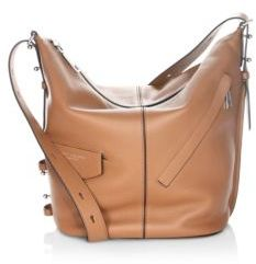 Marc Jacobs The Sling Leather Hobo Bag - OAK - STYLE