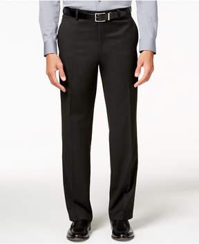 Alfani Men's Traveler Black Solid Classic-Fit Pants, Created for Macy's
