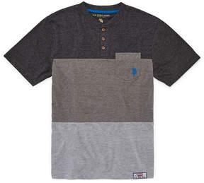 U.S. Polo Assn. USPA Short Sleeve Crew Neck T-Shirt Boys