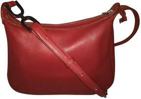 Delvaux Red Leather Handbag