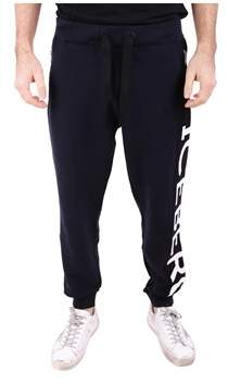 Iceberg Men's Black Cotton Joggers.