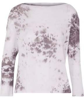 Enza Costa Tie-Dyed Pima Cotton Top