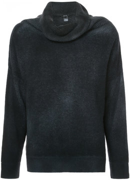 Avant Toi draped neck jumper