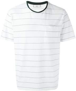 Ami Alexandre Mattiussi thin stripe T-shirt