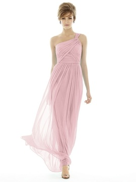 Alfred Sung D691 Bridesmaid Dress in BLOSSOM
