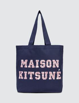 Maison Kitsune Tote Bag Pixel