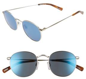 Raen Men's Benson 51Mm Sunglasses - Silver/ Matte Root Beer