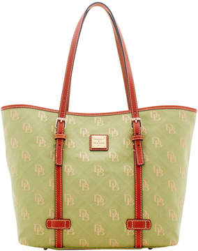 Dooney & Bourke Maxi Quilt East West Shopper - AVOCADO - STYLE