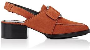 3.1 Phillip Lim WOMEN'S QUINN SUEDE SLINGBACK LOAFERS