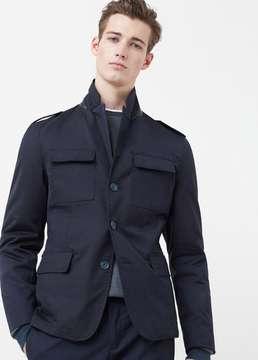 Mango Outlet Safari-style jacket