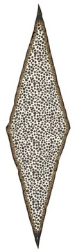 Marc Jacobs Women's Animal & Chains Diamond Shaped Wool Scarf