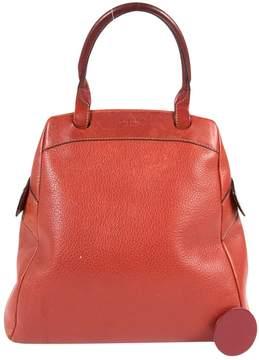 Delvaux Vintage Red Leather Handbag