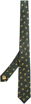 Burberry floral brocade tie