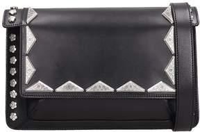 Isabel Marant Black Leather Miskai Bag
