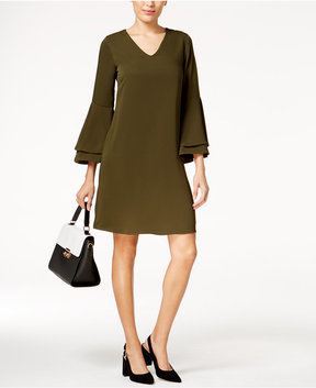 Alfani Bell-Sleeve Dress, Created for Macy's