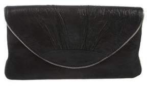 Lauren Merkin Leather Envelope Clutch