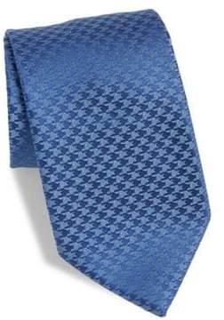 Charvet Houndstooth Silk Tie