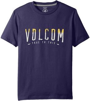 Volcom T Mark Short Sleeve Boy's T Shirt