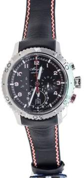 Breguet Type XXII Transatlantique 3880ST/H2/ Flyback Chronograph Stainless Steel Watch