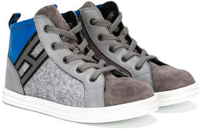 Hogan H logo hi-top sneakers